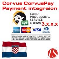 CorvusPay modul za integraciju naplate za OpenCart 3.x.x.x
