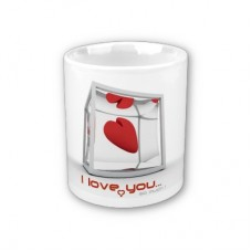 Šalica - ljubavna i romantična