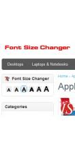 Promjene veličine fonta za OpenCart v1.5.0.x & 1.5.1.x