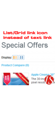 List/Grid link ikone umjesto text linkova 1.5.0.x & 1.5.1.x (vQmod)