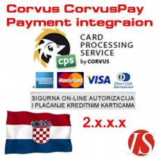 CorvusPay modul za integraciju naplate za OpenCart 2.x.x.x