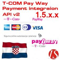 T-COM Pay Way API v2 modul za integraciju naplate za OpenCart 1.5.x.x