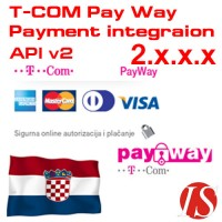 T-COM Pay Way API v2 modul za integraciju naplate za OpenCart 2.x.x.x