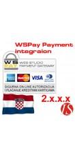 WSPay modul za integraciju naplate za OpenCart 2.0.0.0