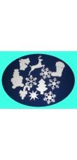 Stiropor dekoracija - Božić, Nova godina