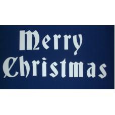 Stiropor Božićni natpis