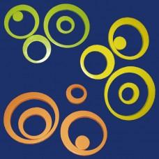 Stiropor zidne dekoracije-krugovi